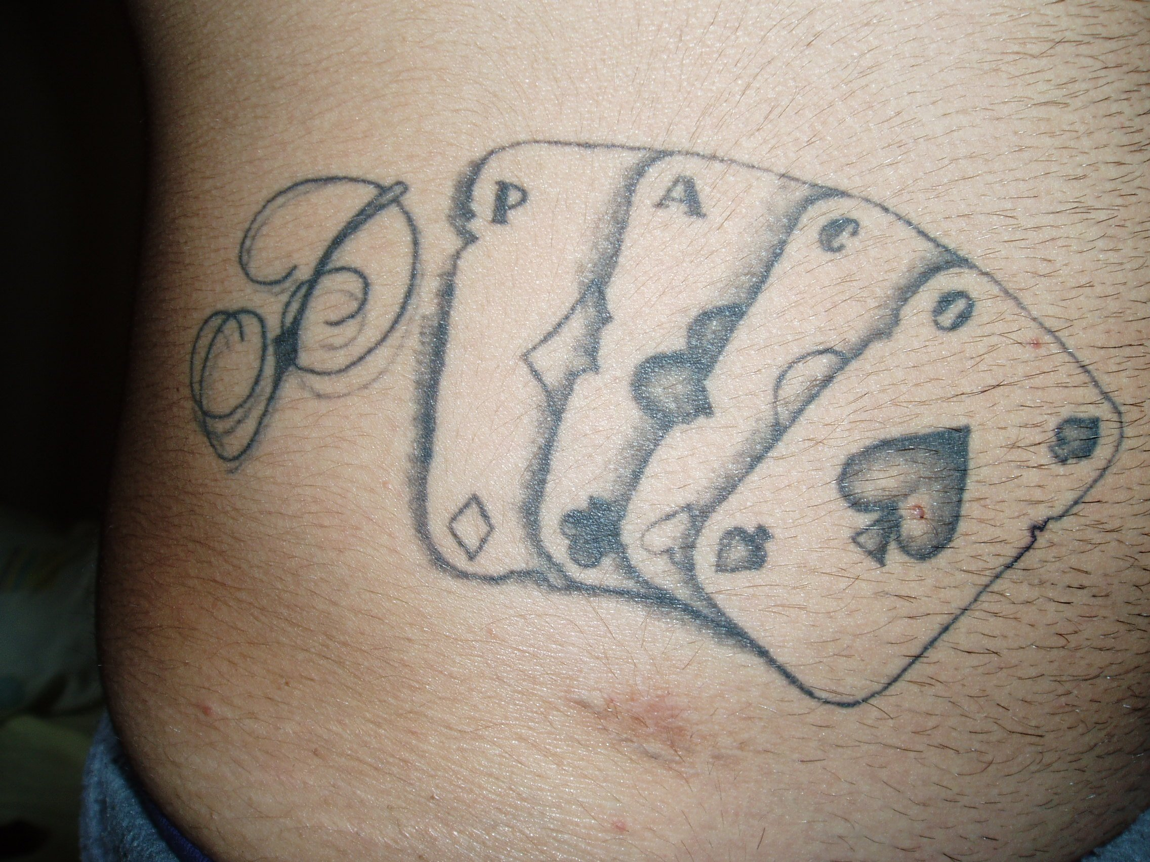 Jockers Y Cartas Dali Tattoo